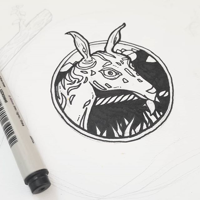 Scrapmule ink, work in progress sketch🐾 . . . . . #Scrapdog #illustration #black #white #paper #sketchbook #mule #ink #art #sketch #artwork #wip #painting #dog #street #streetart #streetdog #gallery #paint #painting #instaart #creative #inspiration #pen #pigmamicron #sakura #pipesgiafollow