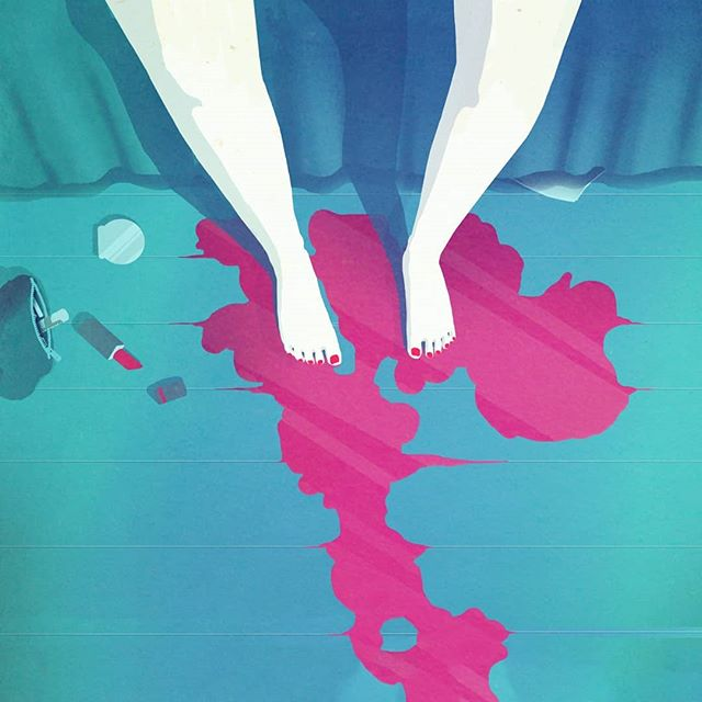 Illustration done some years ago for @lexx.man 's project 👣 . . . . . . #Scrapdog #illustration #digitalart #conceptart #white #colors #blood #paper #ink #art #artwork #gallery #instaart #creative #inspiration #legs #night #greekartist #pipesgiafollow