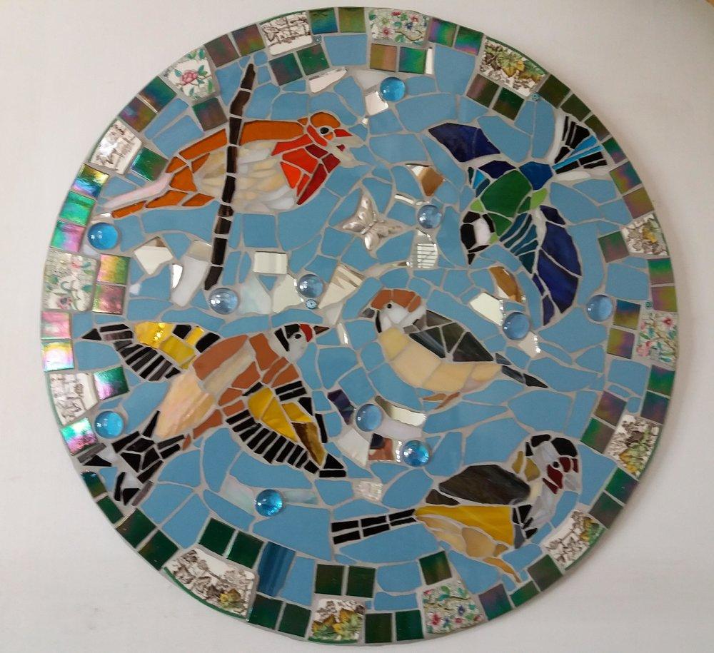 Garden Birds Mosaic