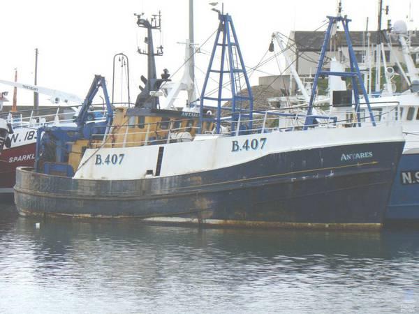 ANTARES B407   Type: Prawn Trawler  Size: 22.80m  Built: 1976