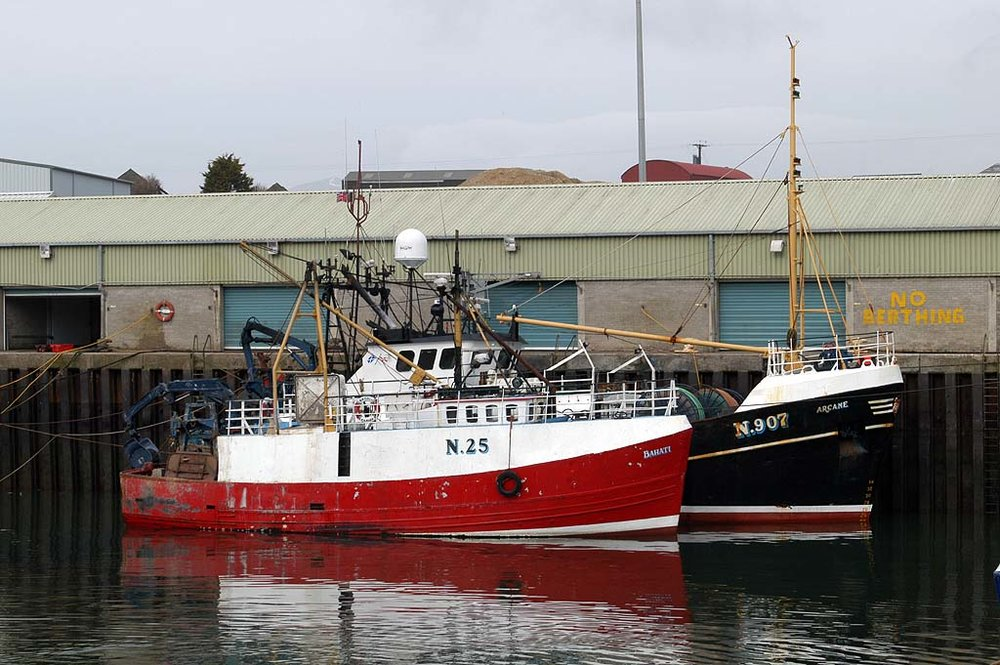 BAHATI N25   Type: Wooden Hull Trawler  Size: 16.48m  Built: 1978; Buckie
