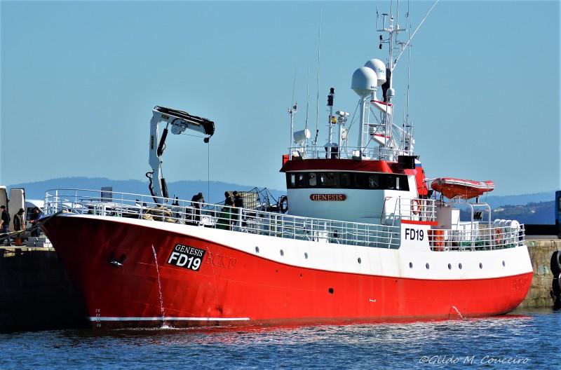 GENESIS FD19   Type: Trawler  Size: 35m x 6m  Built: 1977; Norway