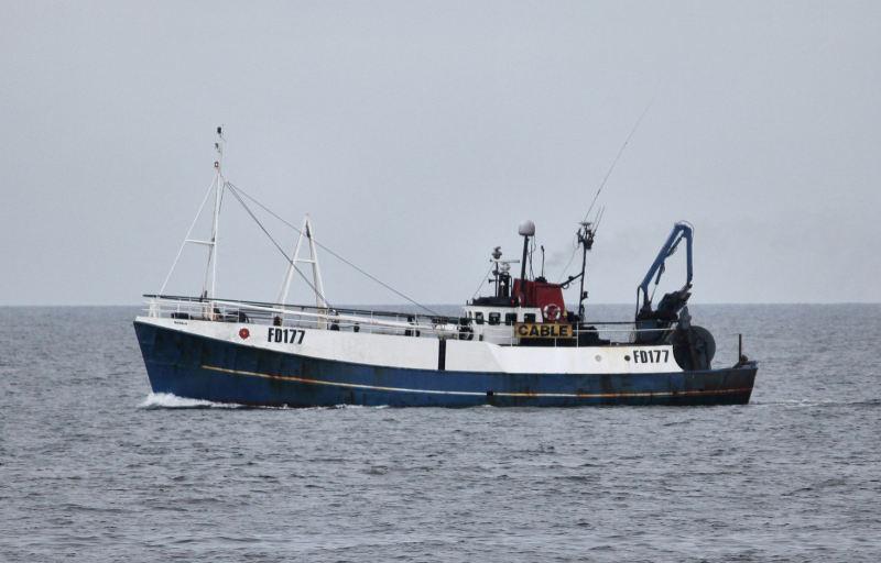 ISADALE FD177   Type: Metal Hull Trawler  Size: 26.16m  Built: 1971; Aberdeen