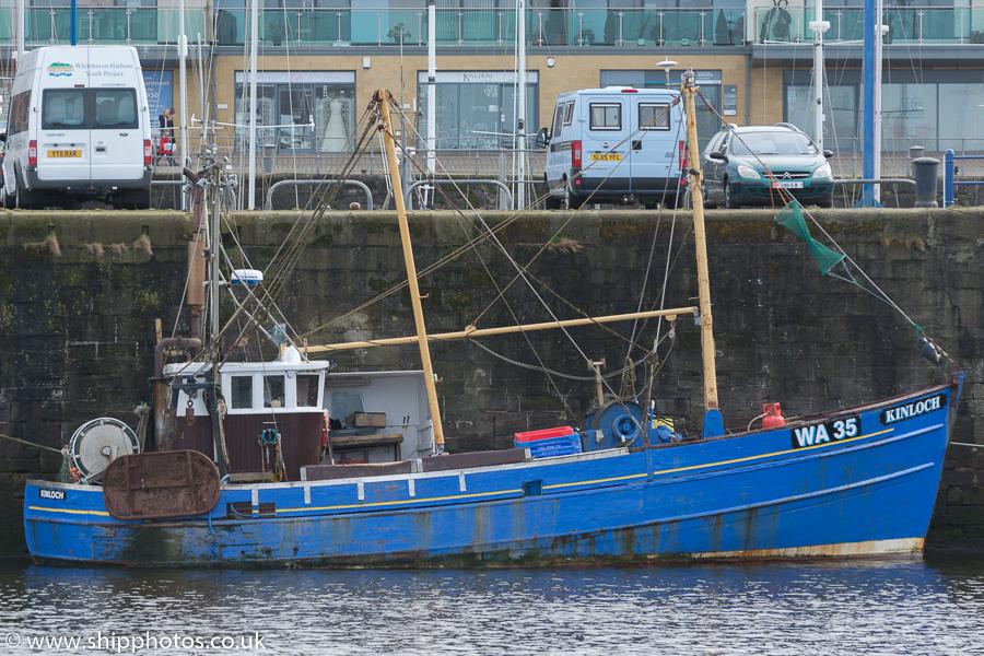 KINLOCH WA35   Type: Wooden Hull Trawler  Size: 12.8m  Built: 1969; Shottan