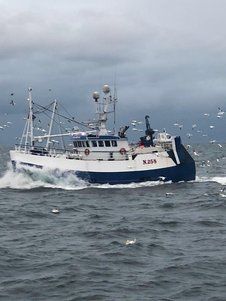 MYLAROSE N258   Type: Multi-purpose Trawler  Size: 20m x 8m  Built: 1997; Macduff Shipyards