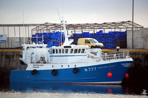 NORTHERN QUEST N777   Type: Metal Hull Trawler  Size: 19.27m  Built: 1980; France