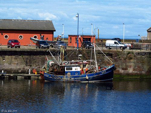 SYRINEN WA2   Type: Wooden Hull Trawler  Size: 11.6m  Built: 1959; Girvan