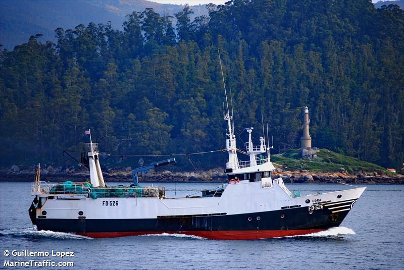 UDRA FD526   Type: Metal Hull Trawler  Size: 35m  Built: 1988; Spain