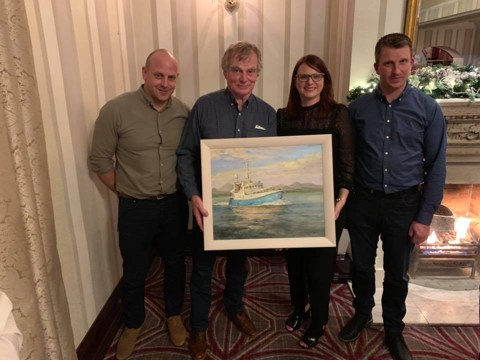 Celebration for Former Members - A special evening for Sea Source at the Slieve Donard Resort and Spa, as we celebrated the contribution to the organisation by former Board members John Kearney and Gordon Campbell on 22nd November 2018. Many thanks Gentlemen for many years of service.