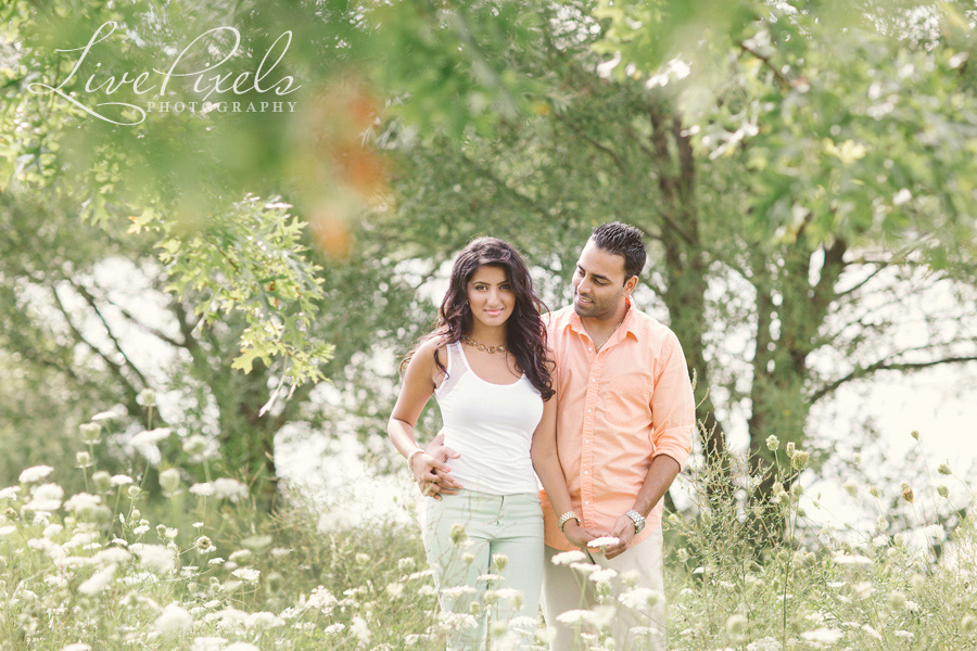 """beautiful couple engagement photos markham"""