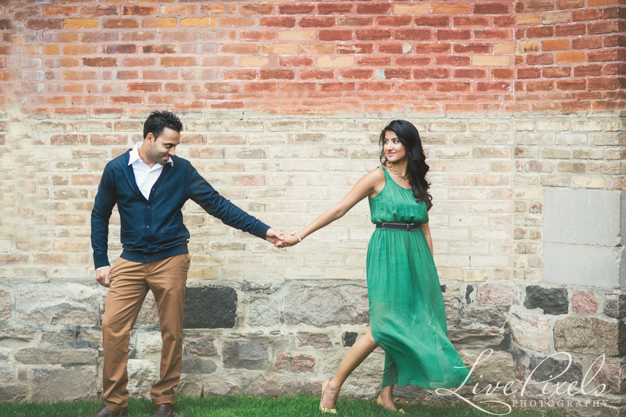 """beautiful couple engagement session in unionville"""