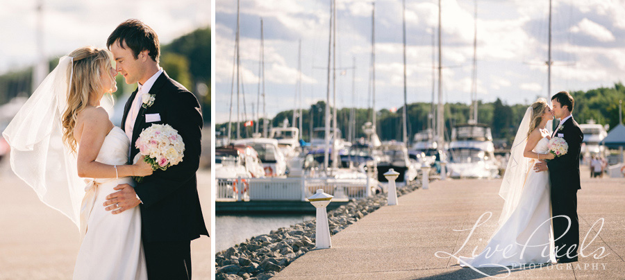 """wedding pictures at Bronte Village in Oakville"""