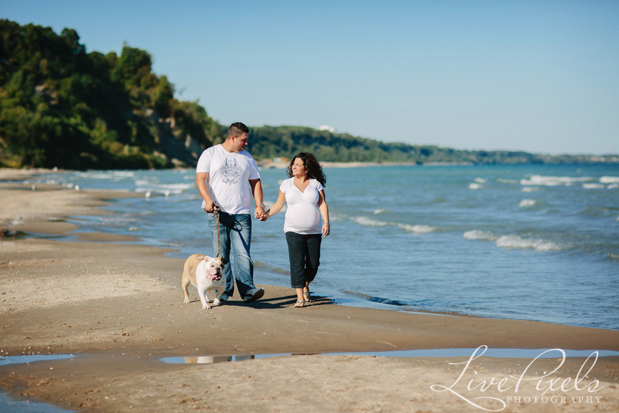 """couple walking on the beach scarborough bluffs"""