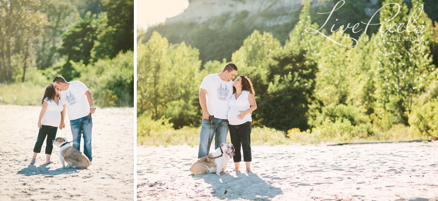 """maternity session in Scarborough Bluffs"""