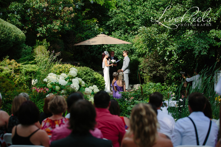 """backyard wedding ceremony"""