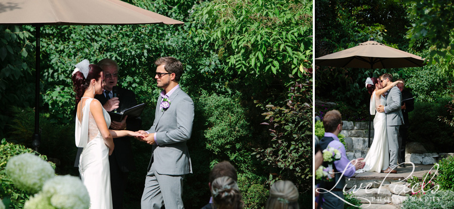 """backyard wedding ceremony in toronto"""