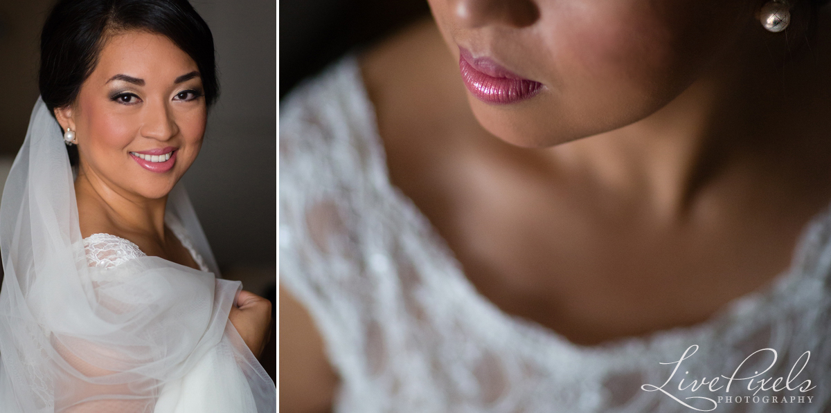 Creative bridal portrait toronto