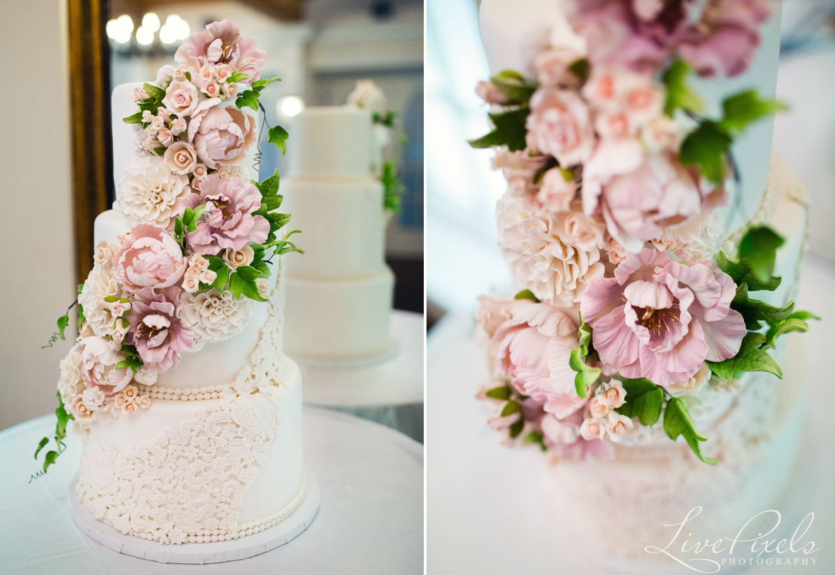 Wedding cake by Fine Cakes by Zehra