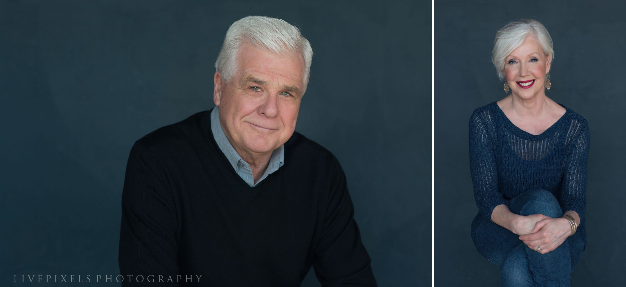 Family Portraits, 30th anniversary studio portrait - Livepixels Photography, Toronto / livepixelsphotography.com