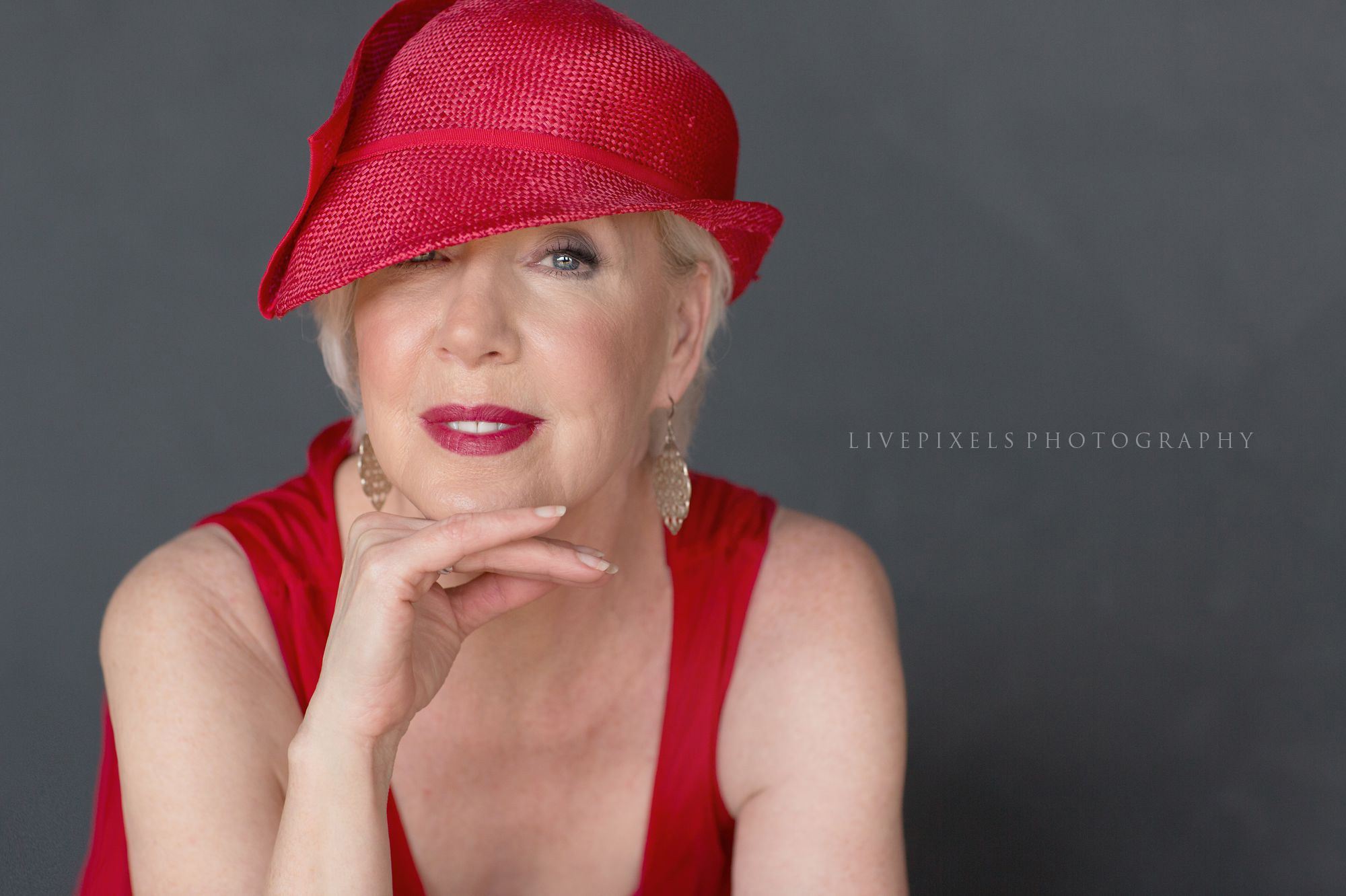 Women over 60 Beauty Portraits, glamour studio portrait - Livepixels Photography, Toronto / livepixelsphotography.com
