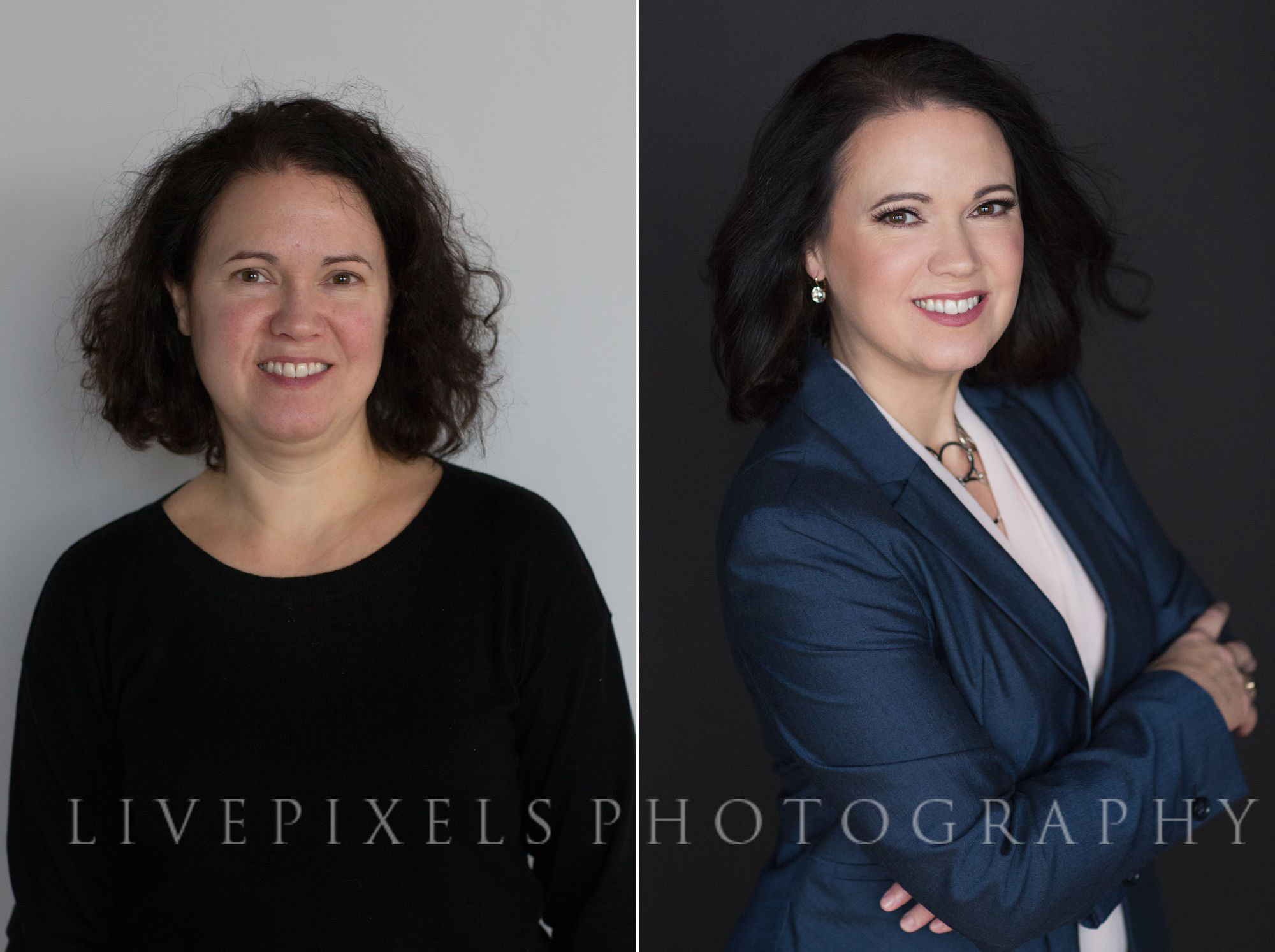 Before & After Makeover Portraits - Livepixels Photography, Toronto / livepixelsphotography.com
