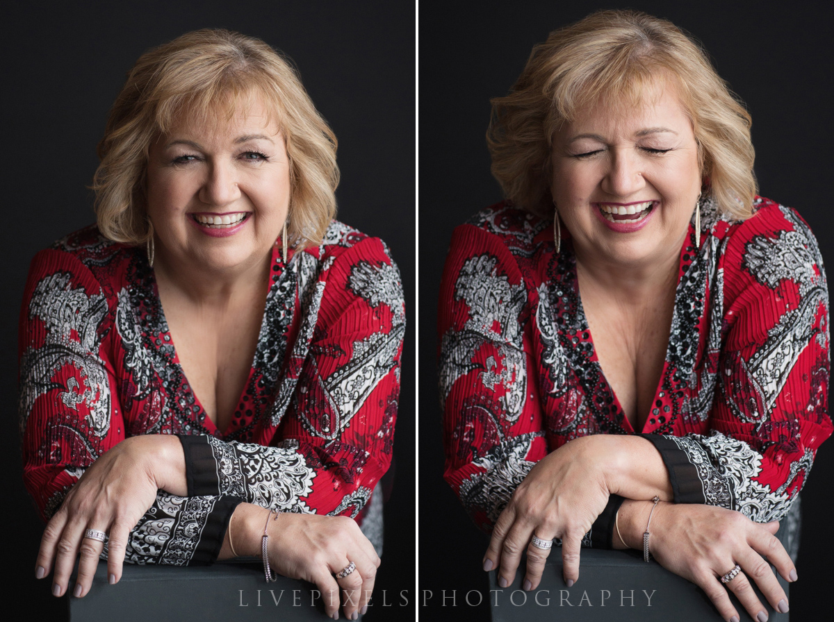 Beautiful Candid Makeover Photoshoot to Celebrate 60th Birthday - Livepixels Photography, Toronto / livepixelsphotography.com