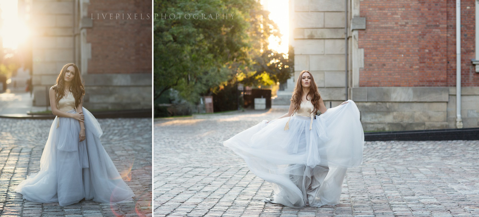 Girl Dancing in a Big Tulle Skirt - Toronto Portrait Photographer - Livepixels Photography, Toronto / livepixelsphotography.com