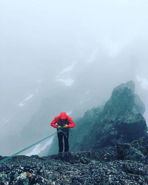 Romsdal Norway, Kvandalstind