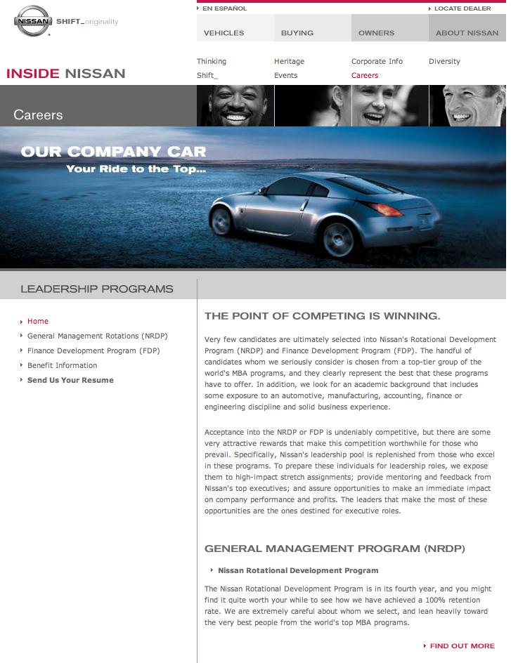 Nissan Careers