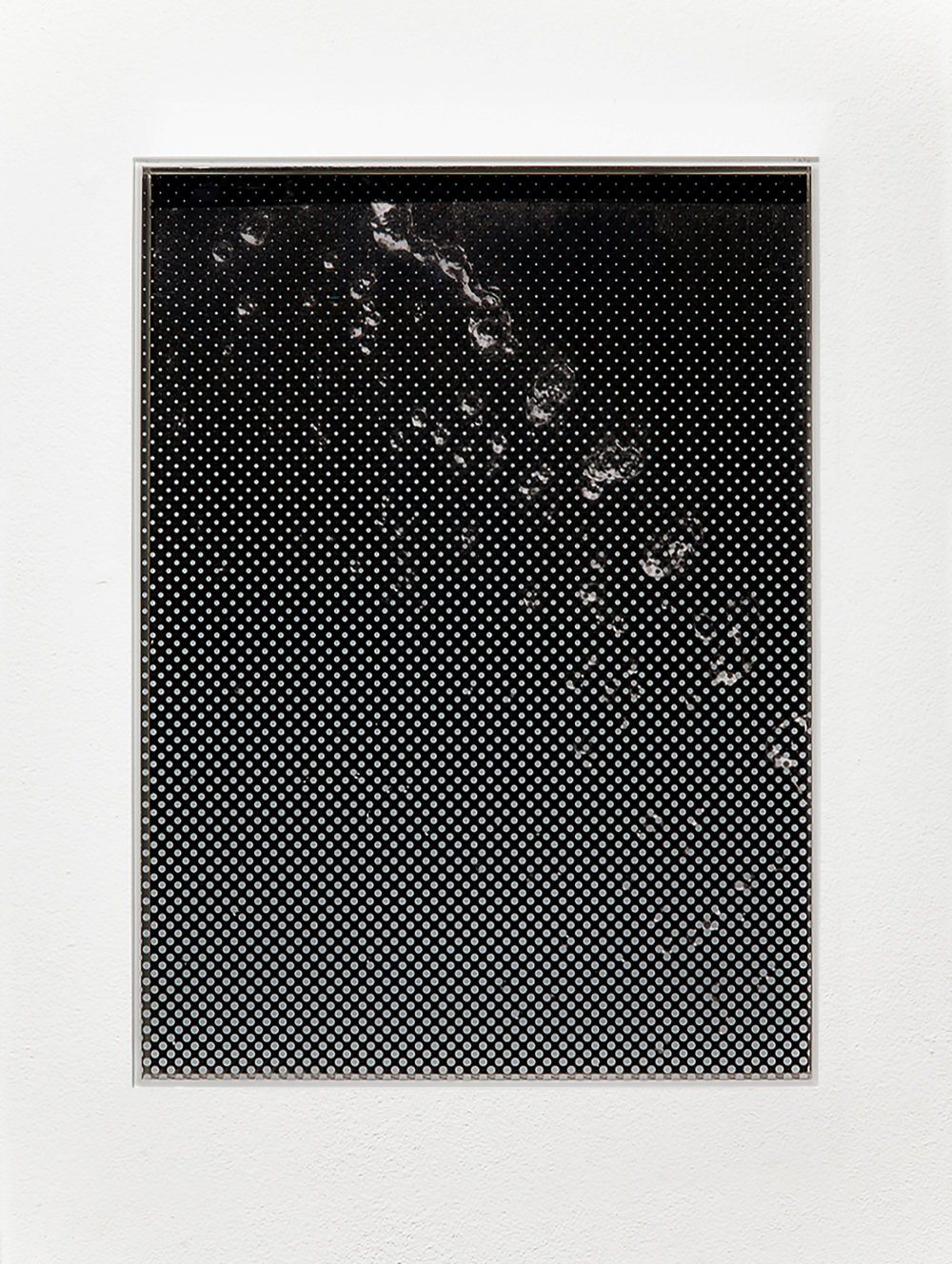 Untitled , 2014 Pencil on paper, Perspex, privacy film 21.0 x 29.7 cm