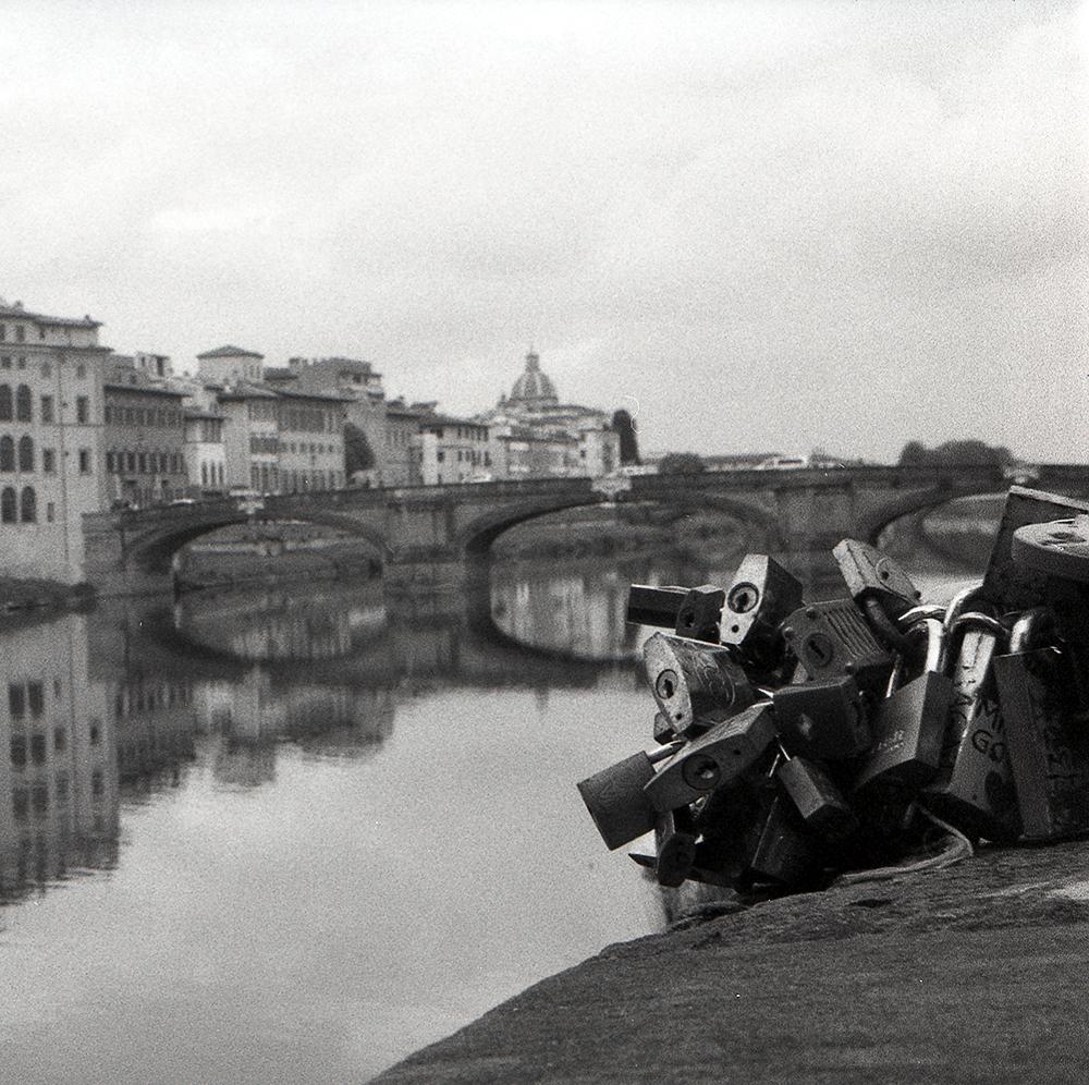 Lock Florence Italy - HP5