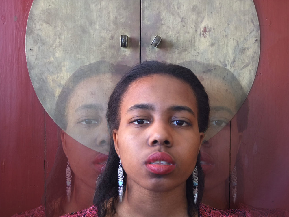 Nia Hampton- Self Portrait as Metaphor
