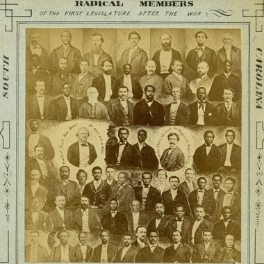 Image of Black Radical Republicans elected to Political Office during Reconstruction via Library of Congress