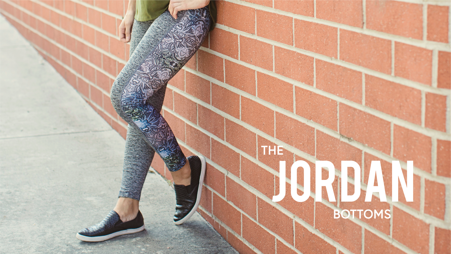 """6e183928bc3636 The """"Jordan"""" athletic leggings are long to the ankle, and let you get your  sweat on comfortably and stylishly. They have a comfortable and flattering  yoga ..."""