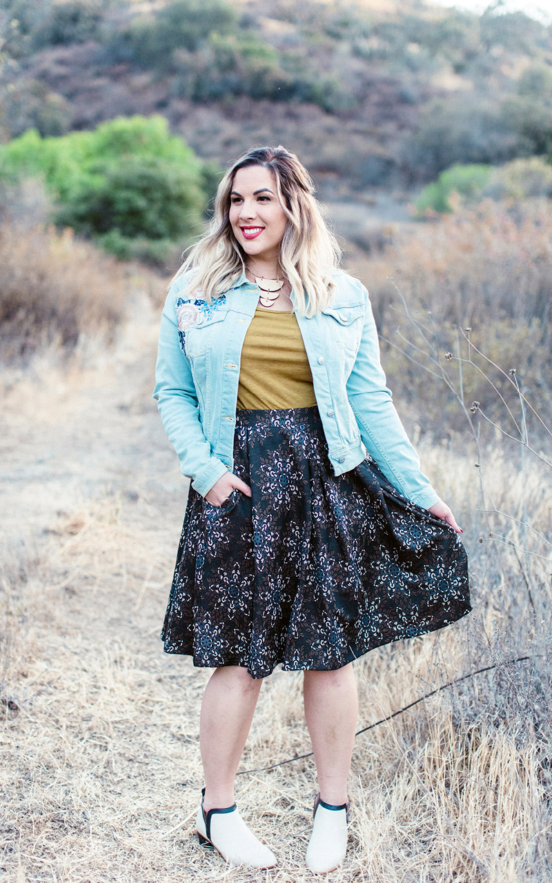 LuLaRoe-Madison-Mid-Length-Skater-Skirt-With-Pockets-dark-geometric-floral.jpg