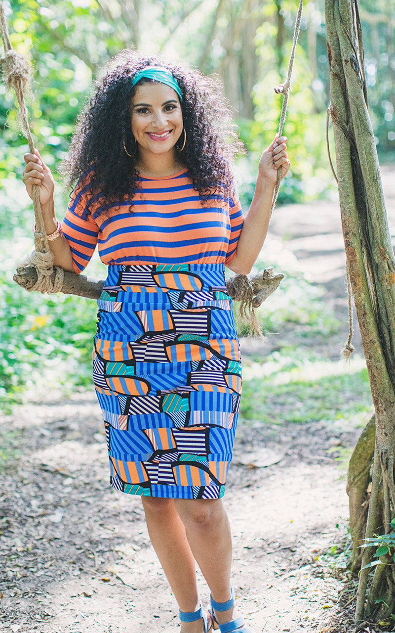 LuLaRoe-Cassie-Mid-Length-Pencil-Skirt-blue-and-orange-patterns.jpg