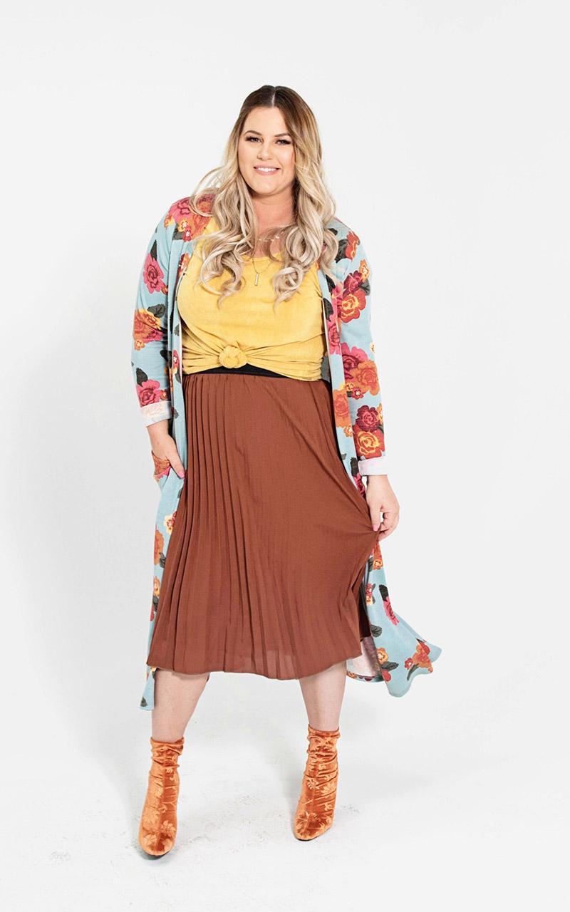 LuLaRoe-Jill-Pleated-mid-length-elastic-waistband-orange-terra.jpg