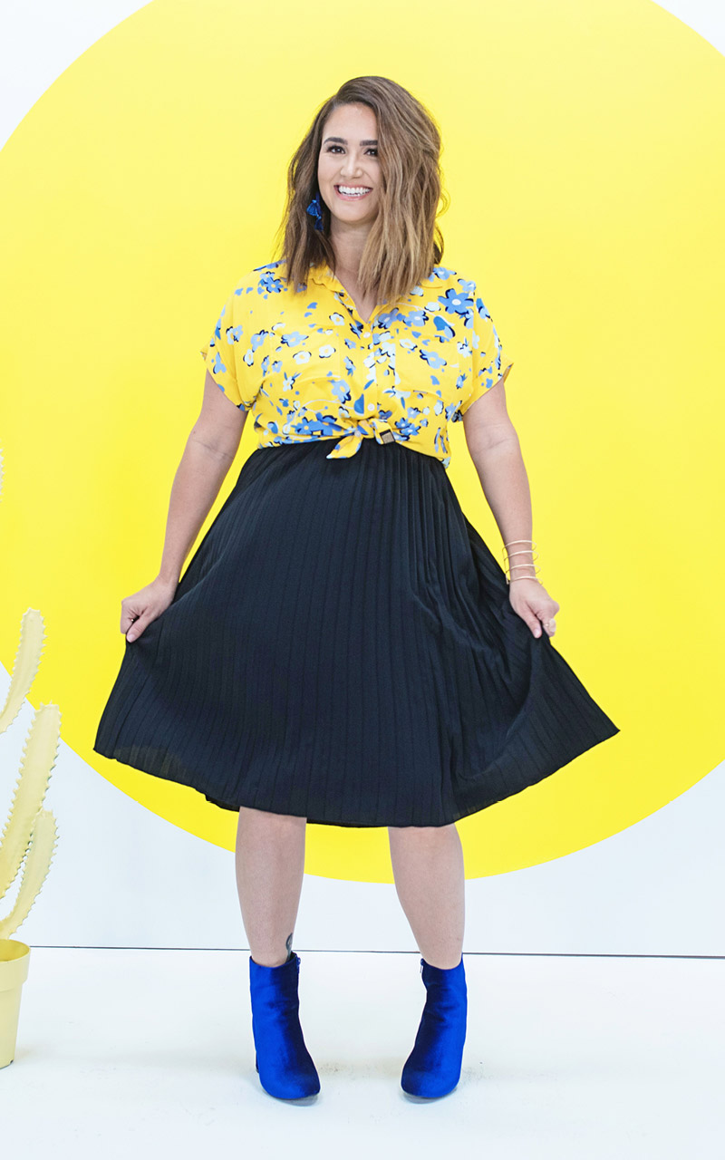 LuLaRoe-Jill-Pleated-mid-length-elastic-waistband-solid-black.jpg