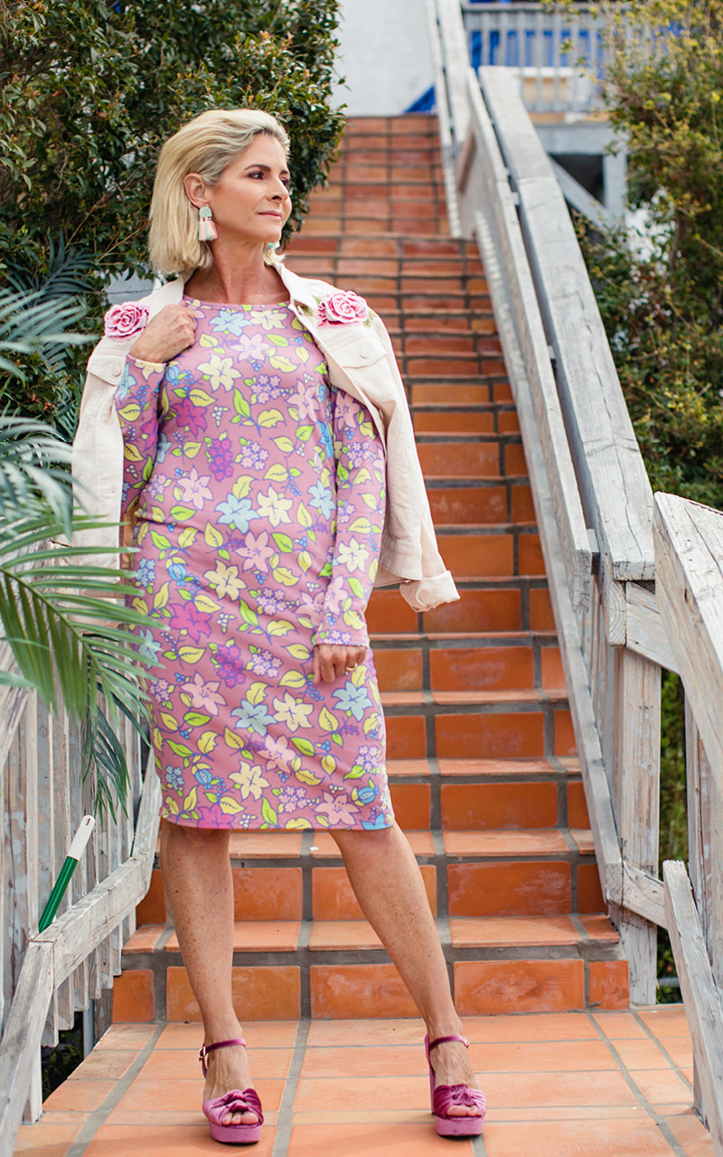 Lularoe-Debbie-Mid-Length-Long-Sleeve-Fitted-Sheath-Dress-pink-and-pastel-florals.jpg