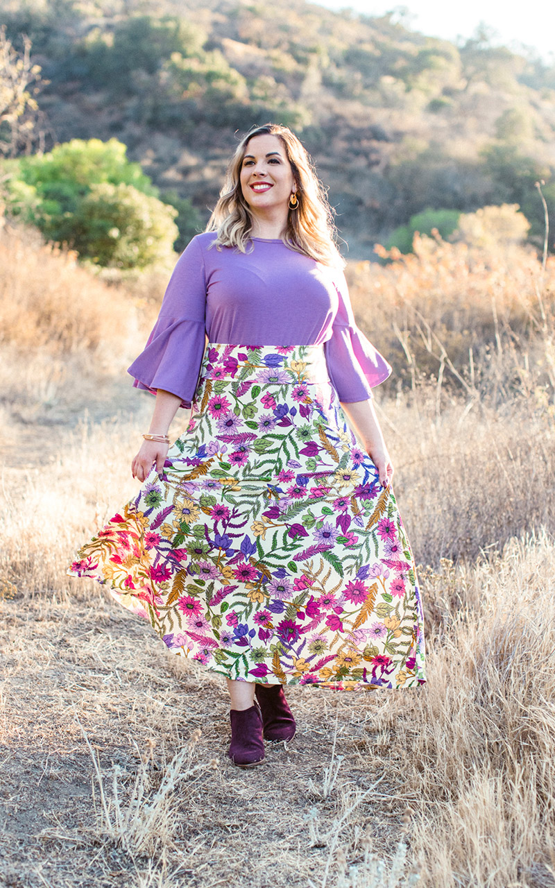 LuLaRoe-Maxi-Skirt-with-yoga-band-spring-colorful-floral.jpg