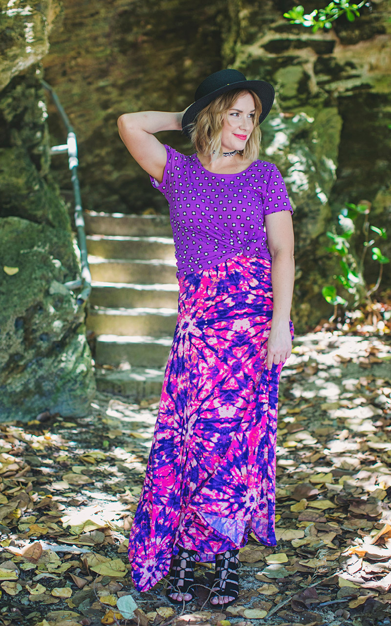 LuLaRoe-Maxi-Skirt-with-yoga-band-tie-dye-pink-and-purple.jpg