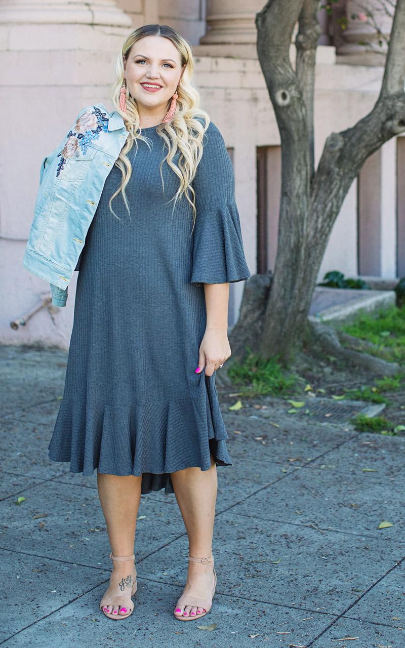 0bad8b951bd LuLaRoe-Maurine-Bell-Sleeves-Flounce-Dress-gray.jpg