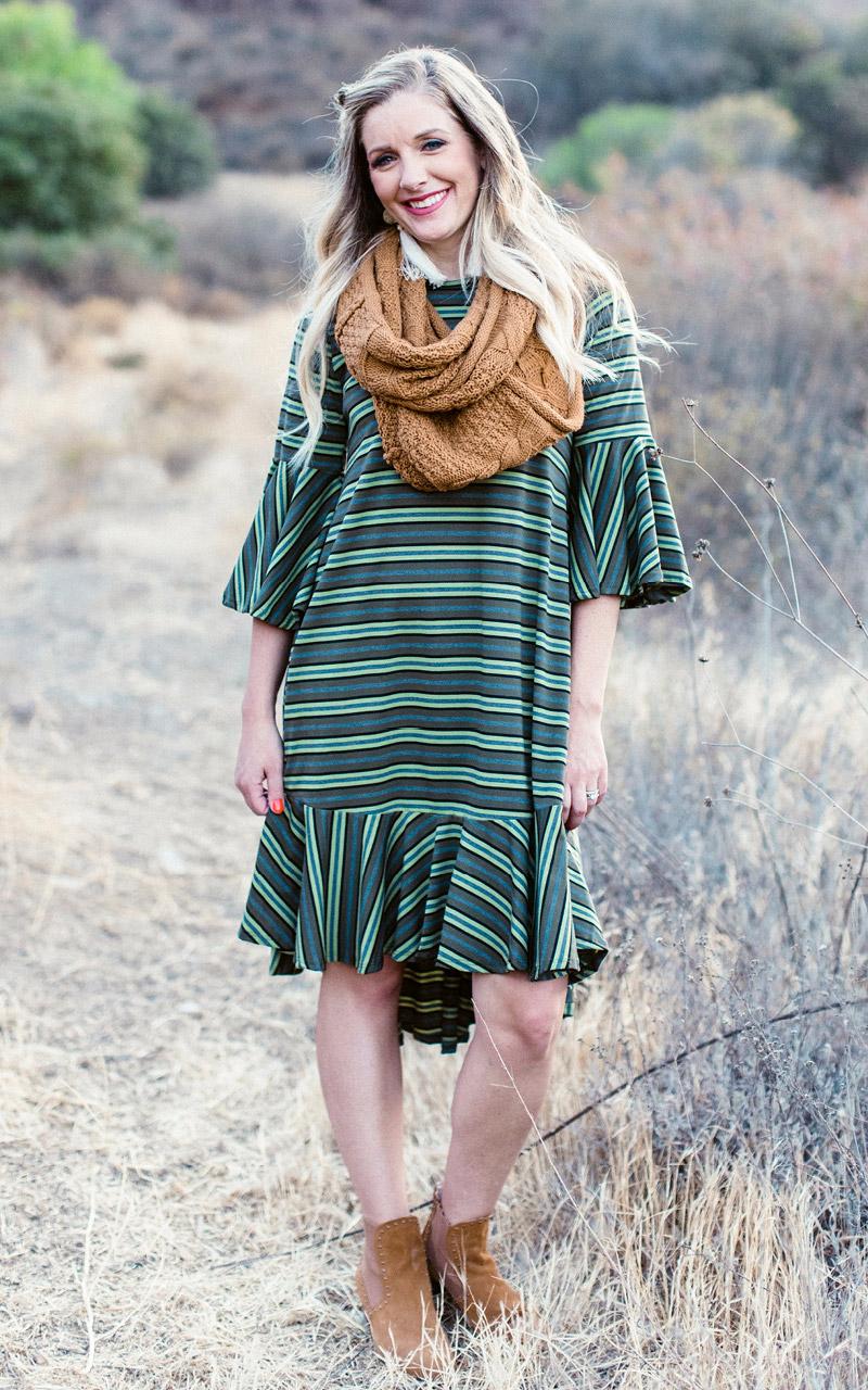 LuLaRoe-Maurine-Bell-Sleeves-Flounce-Dress-stripes-in-green.jpg