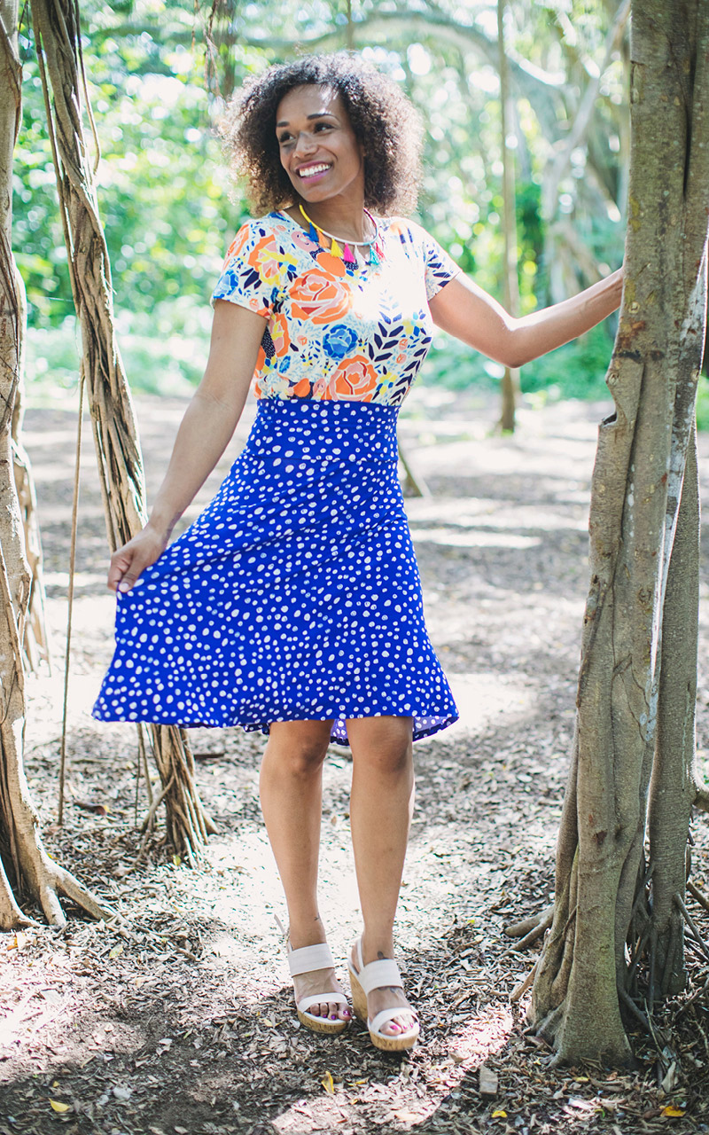 LuLaRoe-Classic-T-shirt-orange-and-blue-floral.jpg