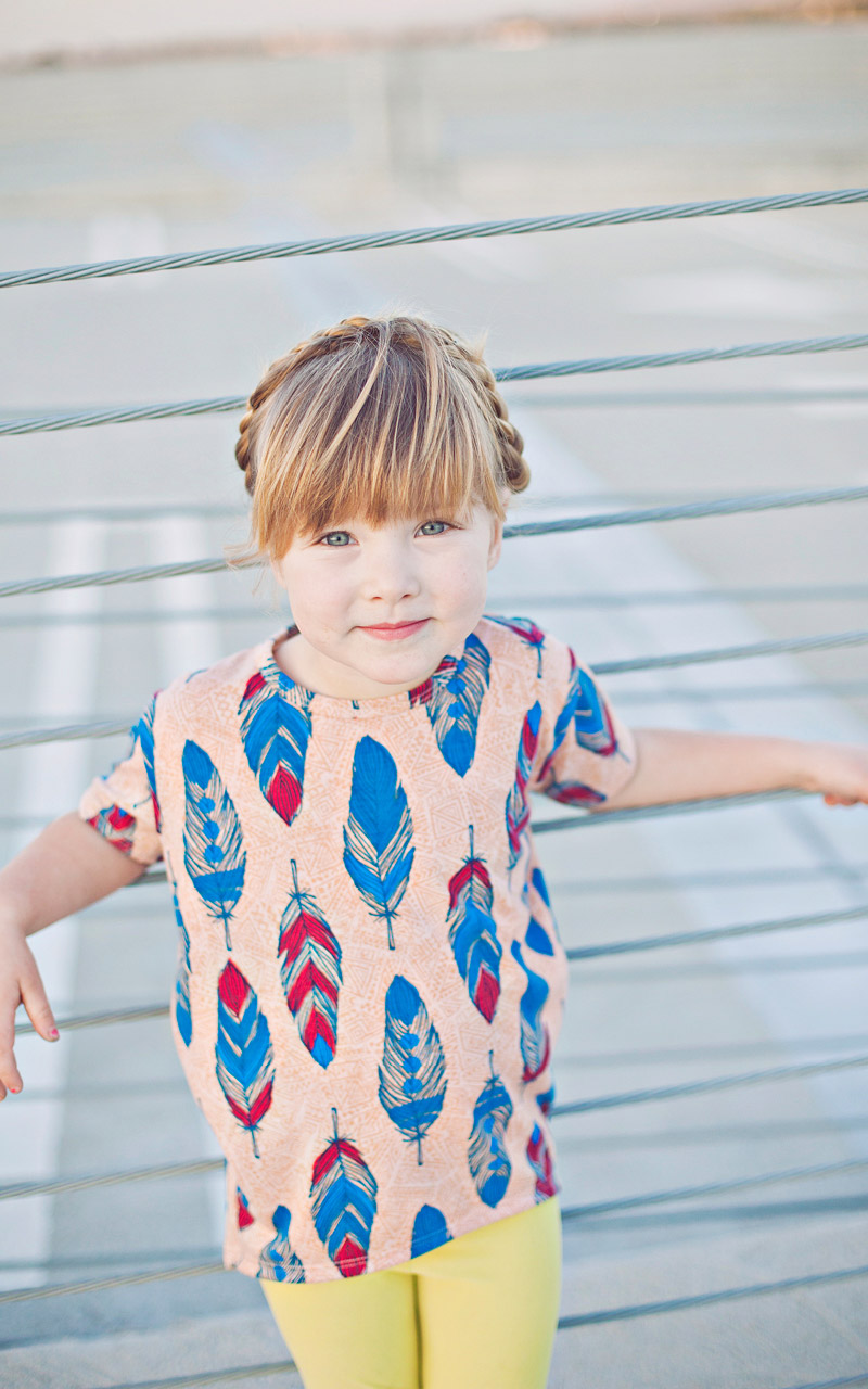 LuLaroe-Gracie-Top-High-Low-T-Shirt-Kids-light-peach-feathers.jpg