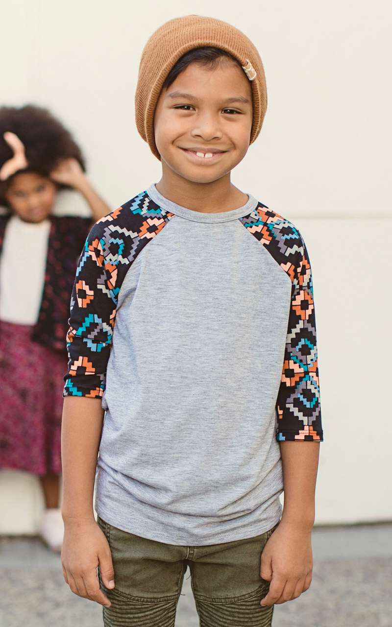 LuLaRoe-Kids-Sloan-Baseball-T-Shirt-gray-geometric-color-shapes.jpg
