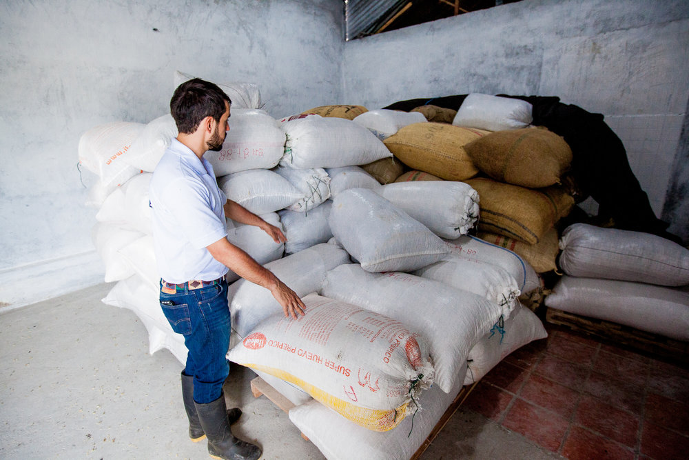 FROM THE FARM TO YOUR DOOR. - Unlike several coffee brokers, we can trace each and every crop back to our farms. Once shipped from Colombia, we then properly store your coffee in our warehouse facilities here in the United States until it is time to be delivered to you. Isn't that nice?