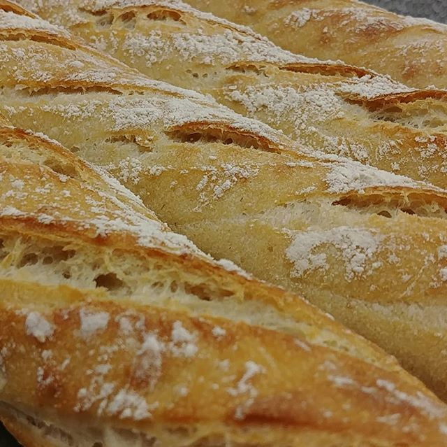 #sourbaguette #realbread #cambridgebakery #whileyouweresleeping #flourwatersalt