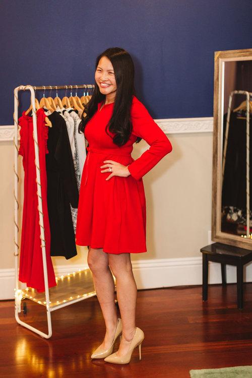 fed95b1bf3ca Have it All Dress (Red) — Ella Garland Clothing
