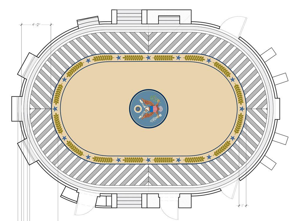 Oval Office Rug Design